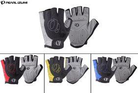"""Велоперчатки """"PEARL iZUMi"""", короткие пальцы, антискользящие, биэластичные, лайкра, размер """"M"""", (черный/серый, PEARLIZUMI1-M)"""