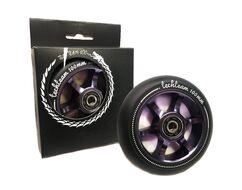 Колесо д/экстрим. самоката, 100 мм, алюминиевое, 6S, с подшипниками (фиолетовый, Wheel6S100purp)