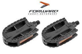 Комплект педалей платформенных FP-618 (108х69х25 мм, ось 12мм) FEIMIN