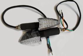 указатели поворота задние светодиодные (пара) Racer RC200GY-C2, RC250GY-C2 Panther