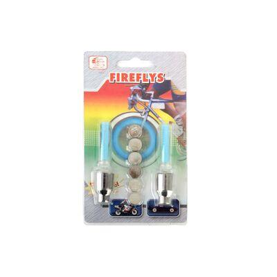 Колпачок на ниппель, JY-503E, светодиодный (1 LED), к-кт 2 шт. #1