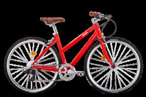 Велосипед BEARBIKE Амстердам 2018-2019, красный