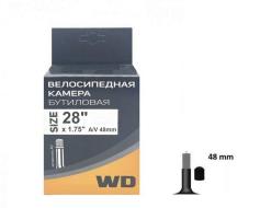 Камера 28x1,75 бутил, авто-ниппель, AV-48mm, WANDA (NP001356)