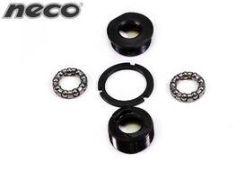 """Чашки каретки NECO, комплект 5 деталей, 1.37""""x24T (стопорное кольцо, чашки, подшипники) инд.уп (FWD-B882E"""