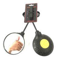 Зеркала (комплект), металлич. ножка, крепление на руль, 260х100 мм (4630031487882)