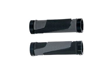 Рукоятки руля (грипсы, комплект), 130мм, Two Sides Lock Alu, GD21-624, MEET, инд. упак. #0