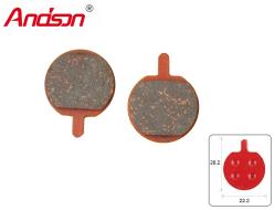 Тормозные колодки ANDSON для дискового тормоза (MAGURA Louis, Hayes MX2, MX3, Sole, Clara, JAK) AD-11