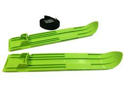 Мини-лыжи пластиковые малые в сетке