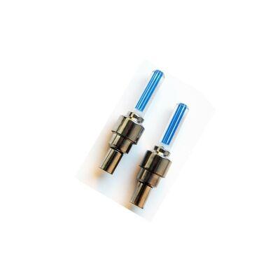 Колпачок на ниппель, JY-503E, светодиодный (1 LED), к-кт 2 шт. #0