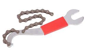 Ключ съемник (хлыст) трещоток/кареток, с ключом, KENLI, KL-9729A