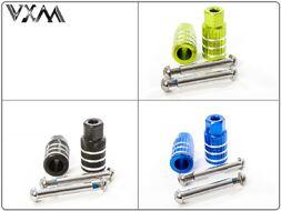 Пеги для трюкового самоката (набор: 2 пеги + 2 оси) 20x50 мм (4 цвета в ассортименте, FW804026)