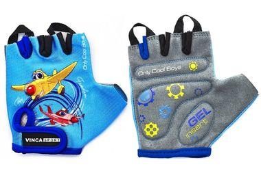 Велоперчатки детские PLANE, гелевые вставки 5XS (VG935PLANE5) #0