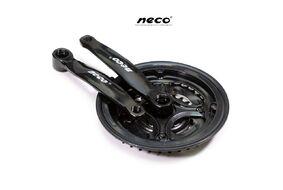 """Комплект шатунов (Система), D-EDх3 """"NECO"""",  NSS3001, длина 170 мм, 24/34/42, с пластиковой защитой (черный)"""