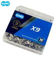 Цепь KMC (X-9) 9 скор. (116 звеньев) 6,6-6,7 мм, с замком, инд. упаковка (KMC-X9)