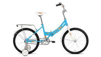"ALTAIR CITY KIDS 20 Compact (20"" 1 ск. рост 13"" скл.) 2019-2020, голубой, RBKT05N01006"