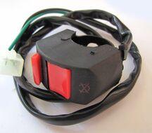 кнопка выключения двигателя в сборе TTR125, TTR250b