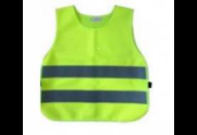 Светоотражающий защитный жилет, детский, 450х400 (лайм, TS-C-04lime)