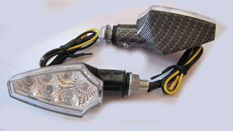 указатели поворота светодиодные (пара) MINI-S-LED-5 универсальные