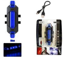 Фонарь задний, DС-918, аккумуляторный, USB кабель, LED, 2 режима работы, влагозащищенный, блистер (красный, FWD-DC-918)