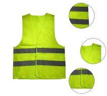 Светоотражающий защитный жилет для взрослых желтый, размер 2XL (инд. упак.)