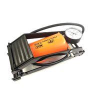 Насос ножной 80х130мм с манометром, метал., A/V, переходники в компл. (FP-9807B)