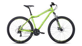 Велосипед FORWARD SPORTING 29 2.0 disc 2019-2020, светло-зеленый/черный