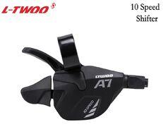 Рукоятка переключения передач правая L-TWOO, триггер, 10 скор., SL-V5010-10W, A-7