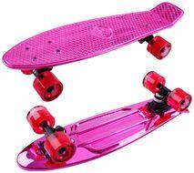 Скейтборд Metallic 22 pink ударопрочный полипропилен (NN004181)