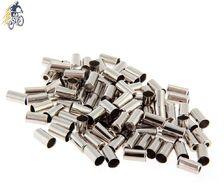 Наконечник оплетки тормоза, Ø 5,0 мм латунь (упаковка 100 шт.) (серебристый, УТ00020252)