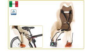 Кресло детское быстросъемное SANBAS-T, крепление заднее, дугой на раму, нагрузка 22 кг, HTP, Италия (бежевый, УТ00019394)