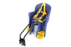 Кресло детское, быстросъемное, BG-6, заднее (крепеж дугой на раму), нагрузка до 15 кг (светло-синий)