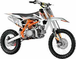 Мотоцикл кроссовый ZIP MOTORS K3 125 (оранжевый)