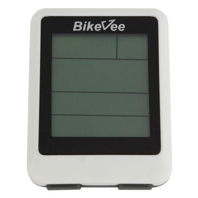 Велокомпьютер, беспроводной, BKV-9100, 20 функций, BikeVee (белый, 1CM000000025) #0