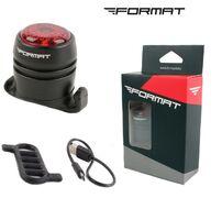 Фонарь задний, FORMAT, NB11-24, Domestic LED, 100 mAh, 4 режима работы, IP65, UGOE