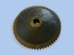 шкив наружный переднего вариатора (маховик) 4Т 139QMB