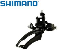 Переключатель передний SHIMANO FD-TZ20 TOURNEY, хомут 1-1/4, верхн. тяга, 31,8, 42T (AFDTZ20TM6T)