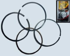 кольца поршневые 4Т 139QMB, 152FMH D50 DELTA, ALPHA, ATV 100