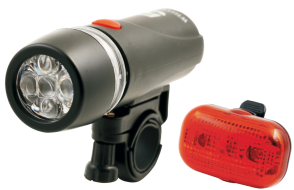 Фонари, комплект (LED перед.+зад.) FY-812-5 (4610013545137)