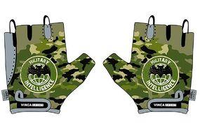Велоперчатки детские, Military, гелевые вставки, 5XS (зеленый, VG951Military5)