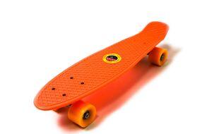 "Скейтборд (пенниборд) PNB Sidney 22"", ABEC-7, колеса PU 60x45, PNB-05 (оранжевый)"