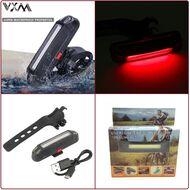 Фонарь задний QX-W03, аккумуляторный, USB кабель, 5 Cob LED, 400 Lumens, 3 реж. работы, влагозащищенный корпус, блистер, QIXUN (УТ00020916)