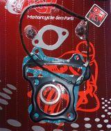 прокладки ЦПГ (3шт) 4T 157QMJ D57 + кольцо глушителя + сальники клапанов