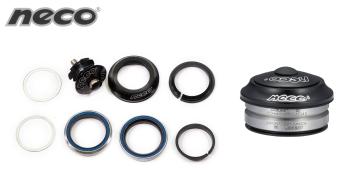 """Рулевой набор NECO, H23, Интегрированный, 1 1/8"""", комплект, размер: 28,6*41,2*30 мм (1HSAAB300194)"""