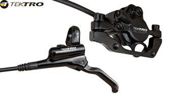 Тормоз передний, гидравлический, HD-M290n, AURIGA, IS/PM, 160 мм, 700 мм, TEKTRO (, 1BJ000001009)
