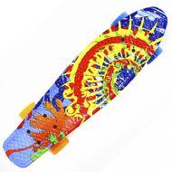 "Скейтборд Hubster 22"", пластиковый, Abec-7,"" Design Sunset (HubsterSunset22)"