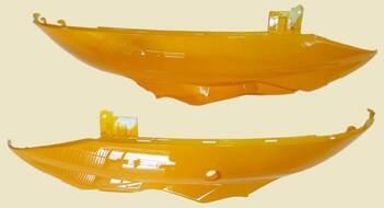 обтекатель задний правый + левый (боковина)  R50, STORM, TRAFFIC, KIDDY, COMETA