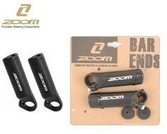 Рога на руль, ZOOM, алюминиевые, 100 мм, Lock On, блистер, A27 (черный, RBEMTA270001)