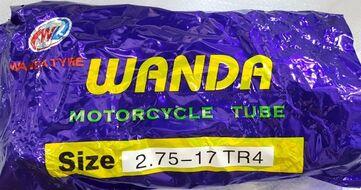 камера 2.75-17 TR4 (55MM) (440g. бутил 50шт. мешок) WANDA