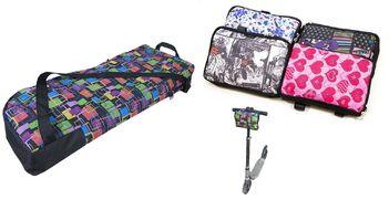 Чехол-рюкзак для самоката COURSE, 180-230 мм, нейлон, в комплекте с упаковочной сумкой (чс011.080.0.1)