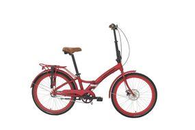 Велосипед FORWARD CITY 24 3.1 disc 2019 (красный матовый)